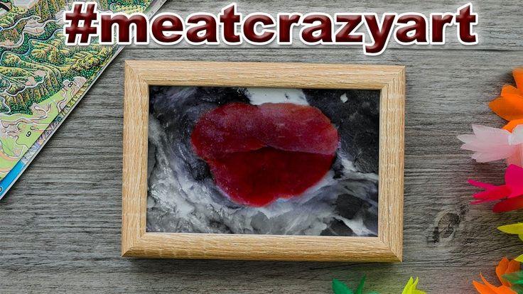 Картины мясом 🔥 creative meat