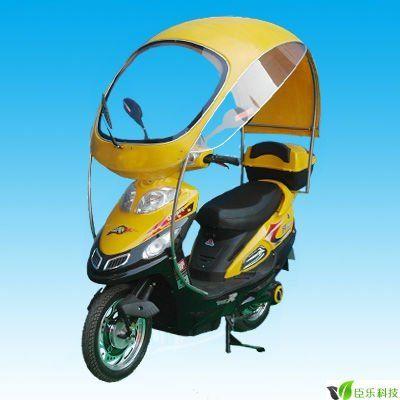 Plataforma de sunproof lluvia Bicicleta eléctrica toldo cubierta de bicicleta eléctrica