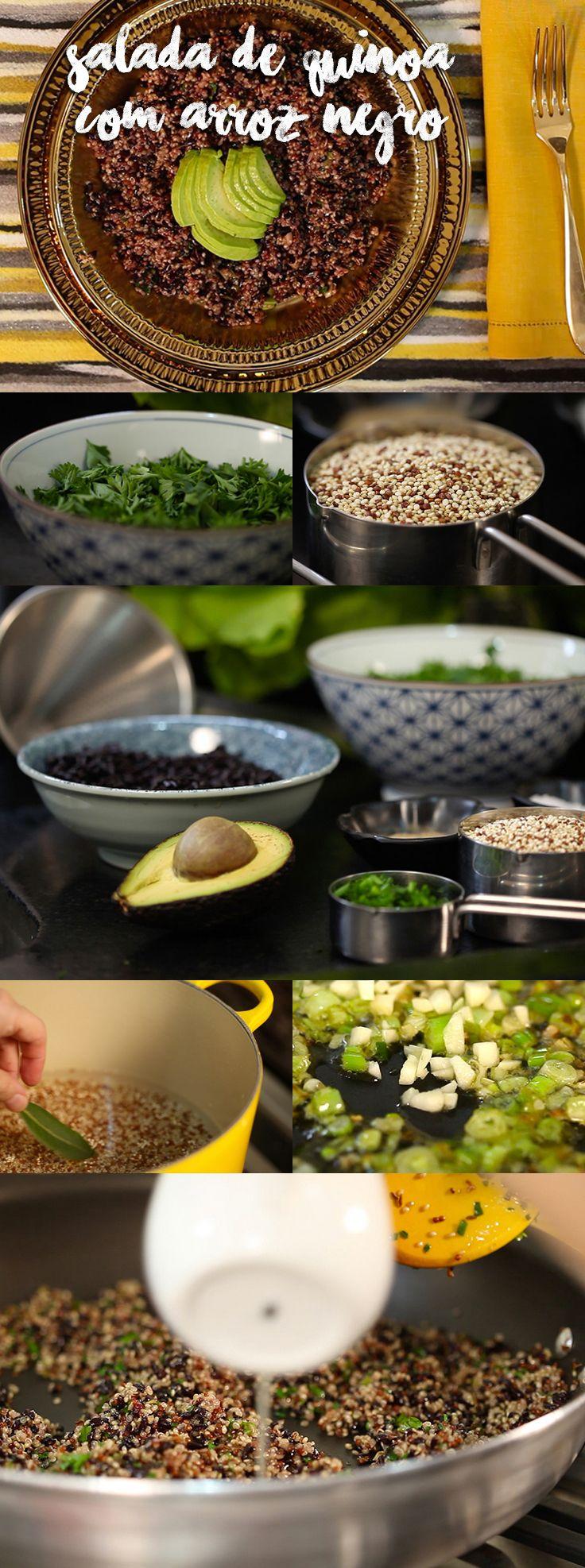 Essa receita é cheia de sabores inusitados, frescos, exóticos, crocantes. Tudo em um único prato, para se surpreender! Veja mais receitas em www.myyellowpages.com.br