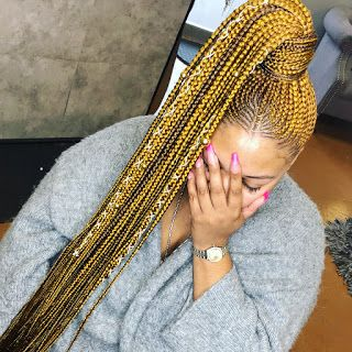 Half Cornrows Half Braids Hairstyles : Newest Fabulous 2019 Kinds You Will Adore