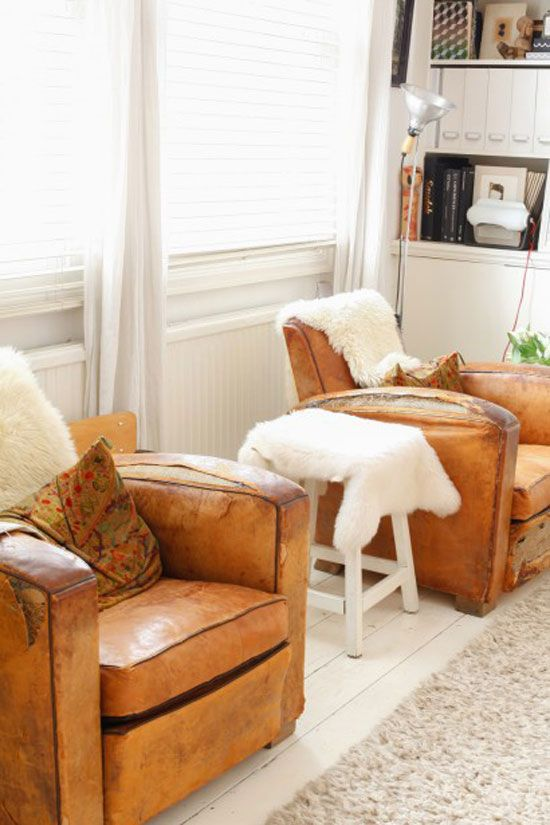 Love these recliners, maybe for the front room...these are probably crazy expensive but a similar color!