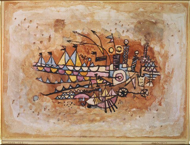 Paul Klee, 'Port Scene,' , ARS/Art Resource