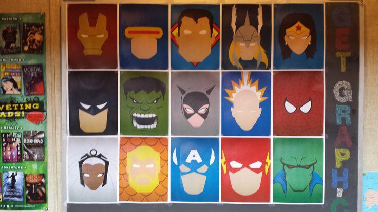 Minimalist Classroom Quiz ~ Images about superhero on pinterest logos