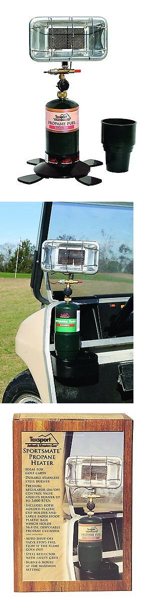 Generators and Heaters 16039: Texsport Portable Propane Heater For Golf Cart, Camping, Fishing Boat, Outdoor BUY IT NOW ONLY: $58.36