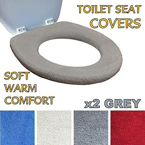 Medipaq Toilet Seat Cover Super Warm Fleece Metal
