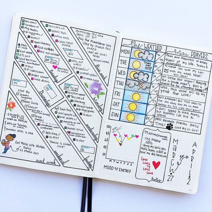 If you want to keep your life organized all year long, then you should really check out these tips and ideas for your bullet journal. I've found the best list of weekly logs, budget trackers, and more bullet journal ideas to keep my life organized all year! With a bullet journal, I can plan and keep track of all the upcoming events in my weekly logs. Plus, there's a bunch of different bullet journal layouts in this post that will make your bullet journal easy to read and super organized.