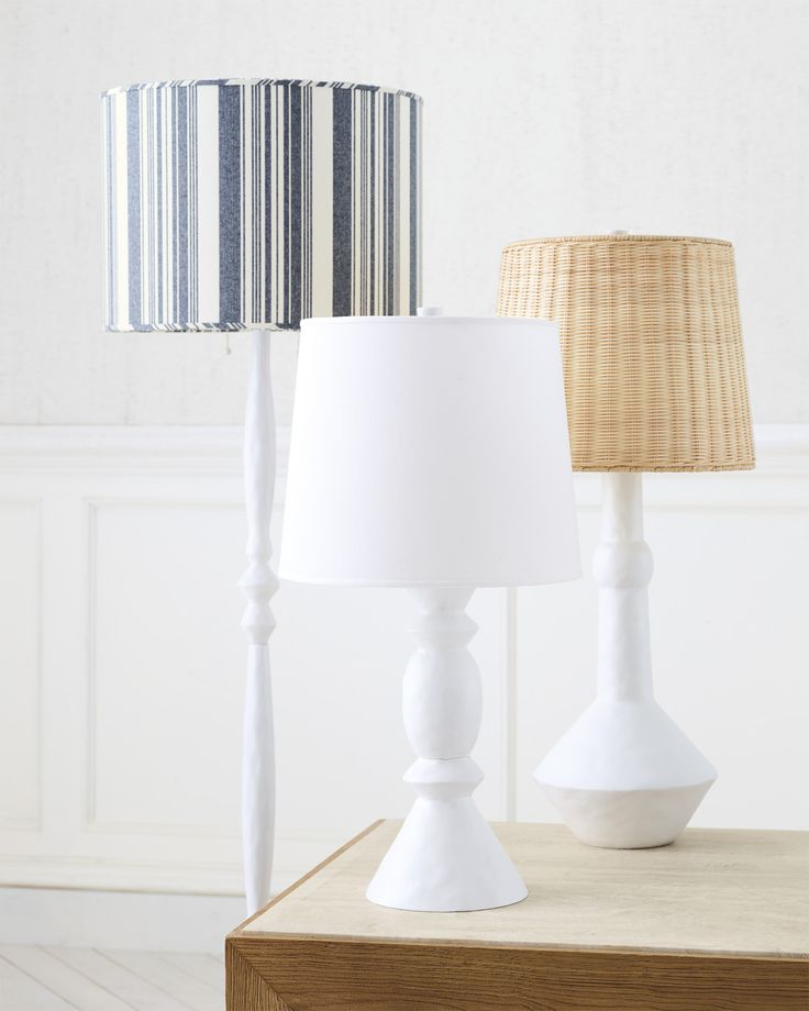 Shop the large brighton table lamp and the rest of our designer lighting at serena and lily
