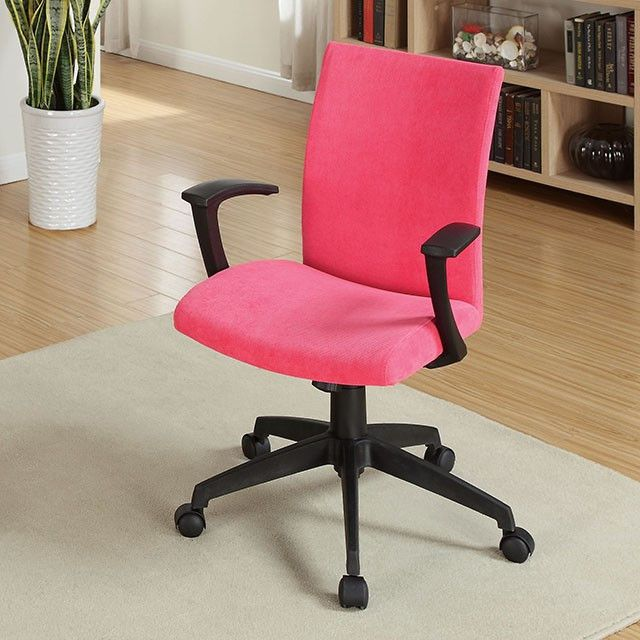 Furniture Of America Crofter Red Office Chair- CM-FC635RD For $119