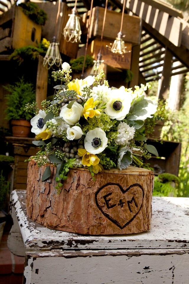 72 best woodland theme wedding images on pinterest table centers woodland theme wedding by borrowed flowers by petals floral design junglespirit Images