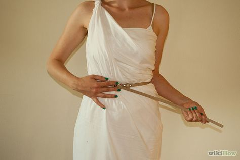 How to Make a Female Toga: Brandy, I seriousely need your help with this costume. (party in June)