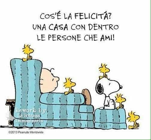 la felicità di Snoopy