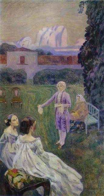 Victor Borisov Musatov (1870 – 1905) – Pintor Russo_24