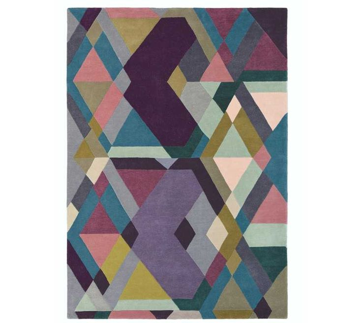 Exceptional Ted Baker   Mosaic 57605 Light Purple Rugs   Modern Rugs