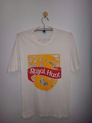 Vtg Royal Hunt Clown in the mirror Japan Tour 1995 T Shirt Progressive Metal Tee