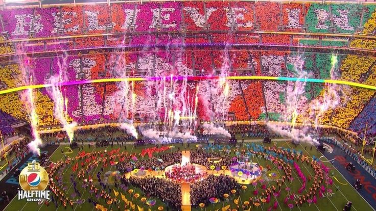 This was ... good! Super Bowl 50  Halftime show Very cool