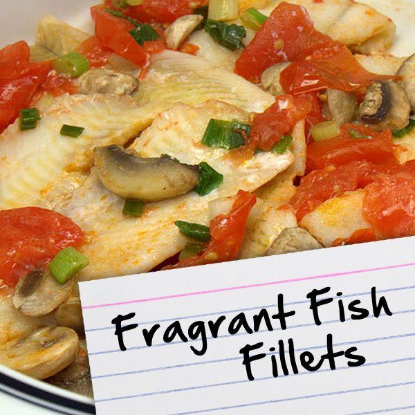 Recipes for diabetes fragrant fish fillets recipes for for Fish for diabetics