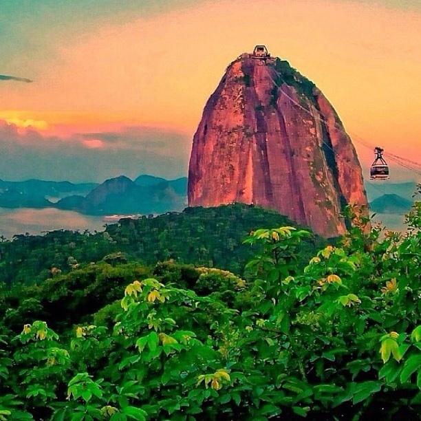 Discovered by Kelen: Pão de Açucar (Sugar Loaf Mountain) in Rio de Janeiro, Brazil