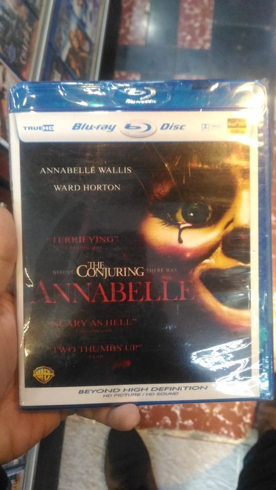 Annabelle Blu-Ray HD Picture Free Shipping