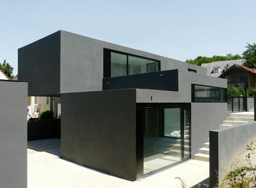 122 best Pins French architects images on Pinterest Architects - architecture contemporaine maison individuelle