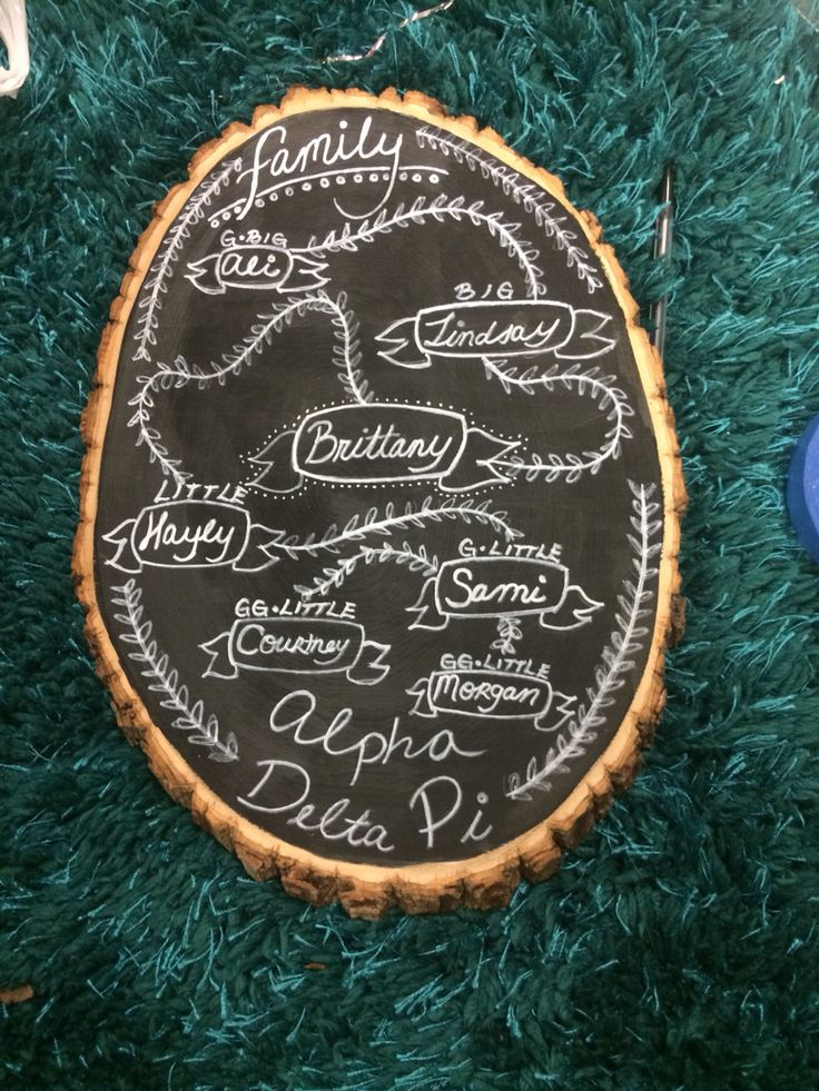 Alpha delta Pi sorority family tree #adpi #familytree #sorority #TSM
