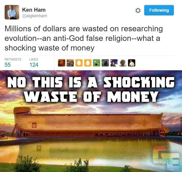 """The entire """"ark"""" project is a joke! To build his ark, Hamm required tools and materials that didn't exist 1000's of years ago! Hamm also needed heavy cranes and extra manpower to finish it too (things Noah didn't have either). What's truly pathetic is that taxpayers ended up paying for this."""