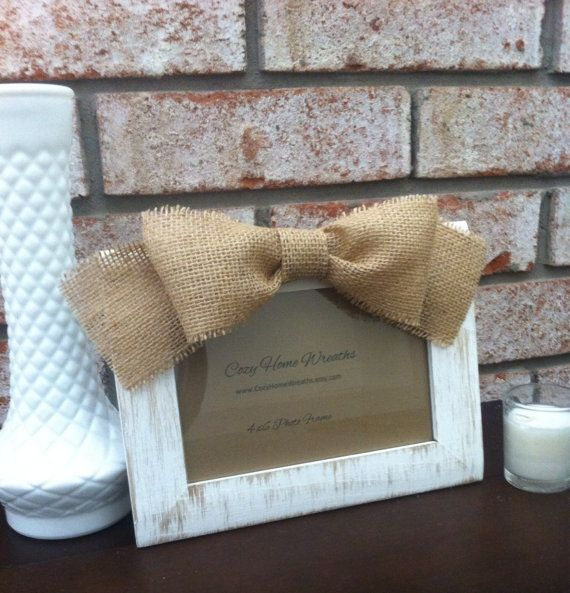 Picture Frame  Photo Frame  Rustic Picture by CozyHomeWreaths