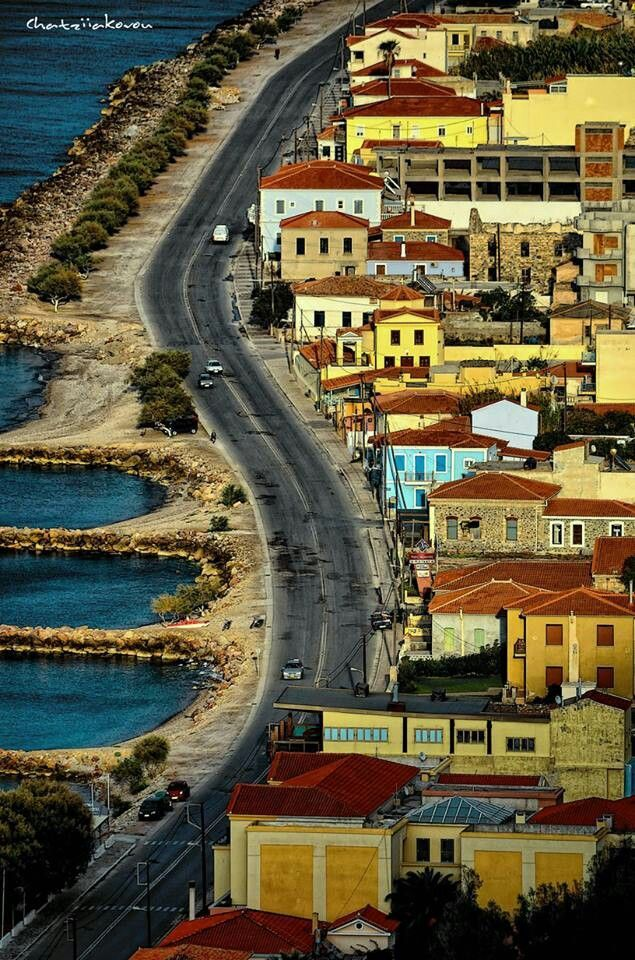 Karlovasi on Samos island
