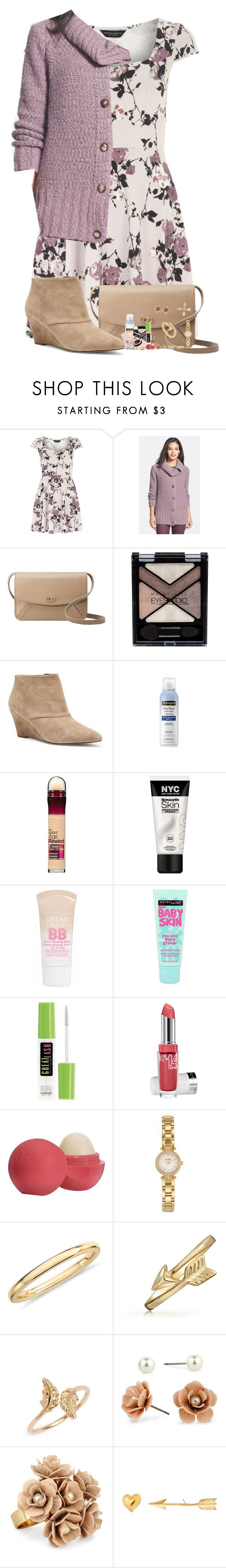 """Queen of Wolves"" by nessiecullen2286 ❤ liked on Polyvore featuring Dorothy Perkins, Lafayette 148 New York, UGG Australia, Maybelline, Sole Society, Neutrogena, Eos, Kate Spade, Blue Nile and Bling Jewelry"