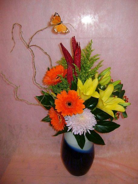 A flower arrangement called Converse