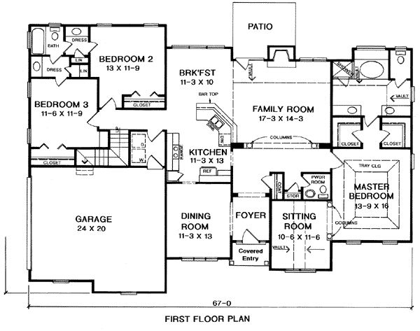 House Plan chp-2589 at COOLhouseplans.com