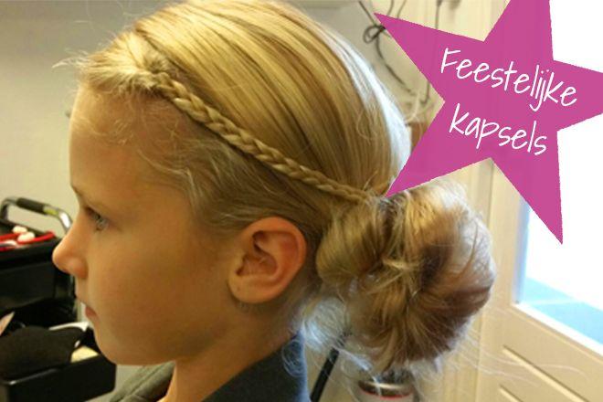 8x Kidsproof-feestkapsels voor gemaksmoeders! #kidsproof #haar #diy #feest