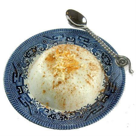 Tembleque (Puerto Rican Coconut Milk Pudding).