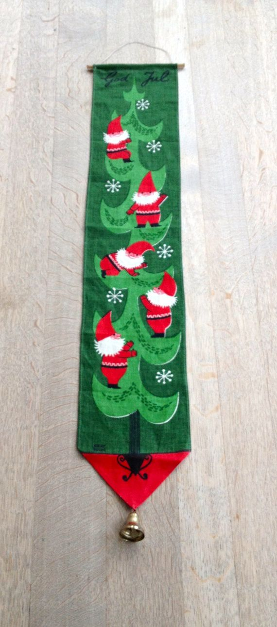 JERRY ROUPE Swedish Christmas Elf Bell Wire Wall by SCANDIANDERSEN