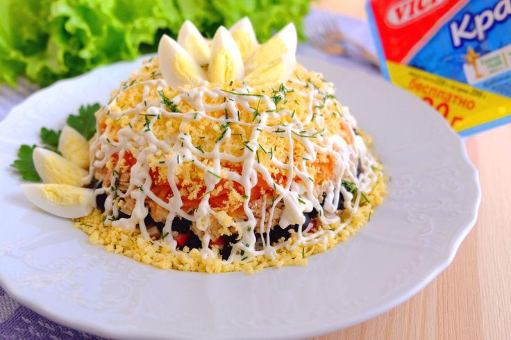Многослойный салат «Царский»