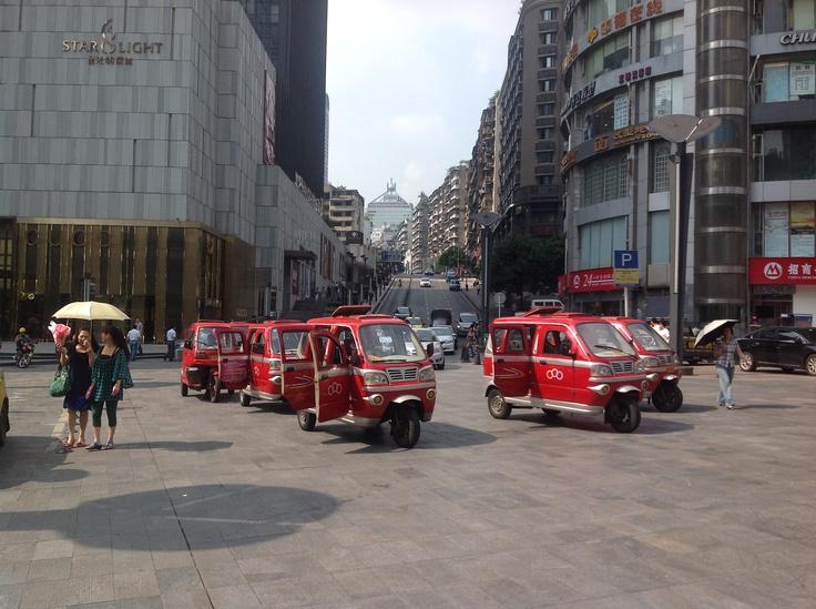 Chongqing taxi rank