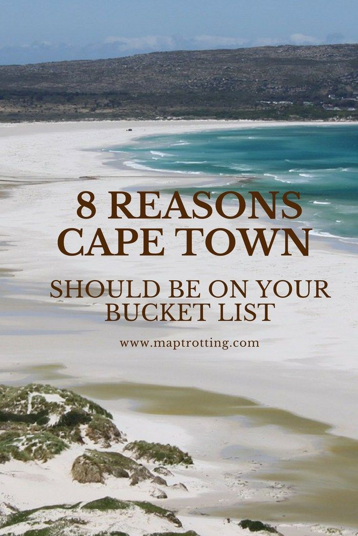 If you are a seasoned traveler or are just about to take your first trip, we share the 8 reasons why you should visit Cape Town before you die!  Visiting Cape Town | Visiting South Africa | Bucket List Destinations | Exploring Cape Town | Travel Guide to Cape Town |