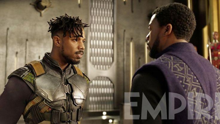 Chadwick Boseman And Michael B. Jordan Star In Exclusive Black Panther Images
