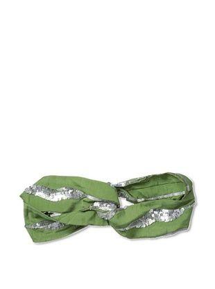 65% OFF Priti Moudgill Women's Sequin Turban Headwrap, Army
