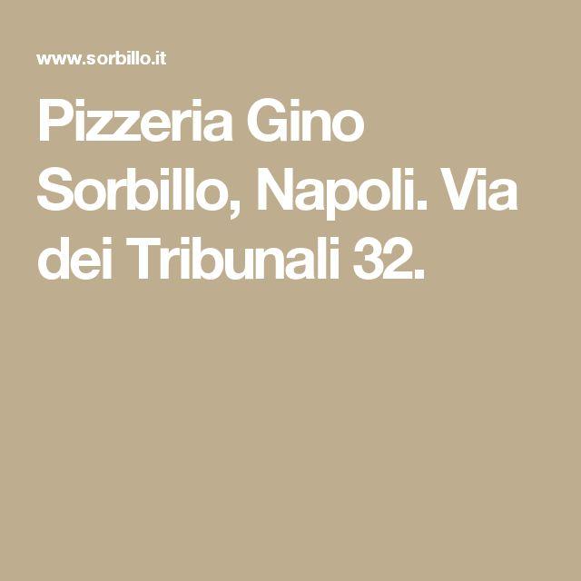 Pizzeria Gino Sorbillo, Napoli. Via dei Tribunali 32.