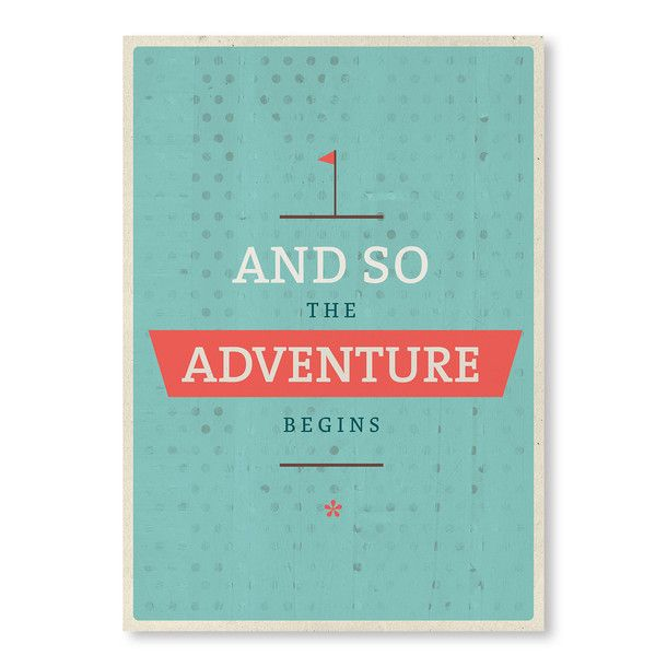 and so the adventure begins... #adventure #travel #quote