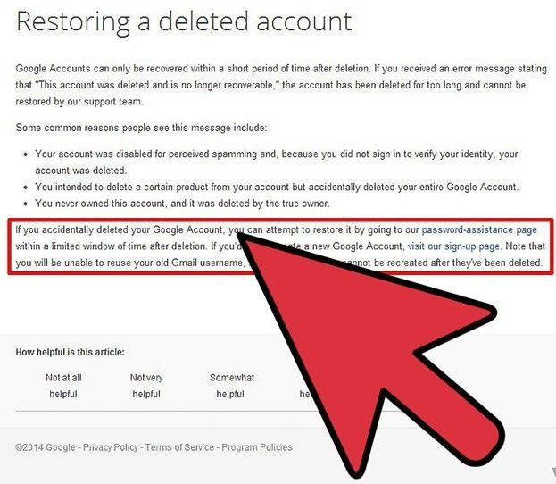 How To Recover Deleted Gmail Account Nel 2020