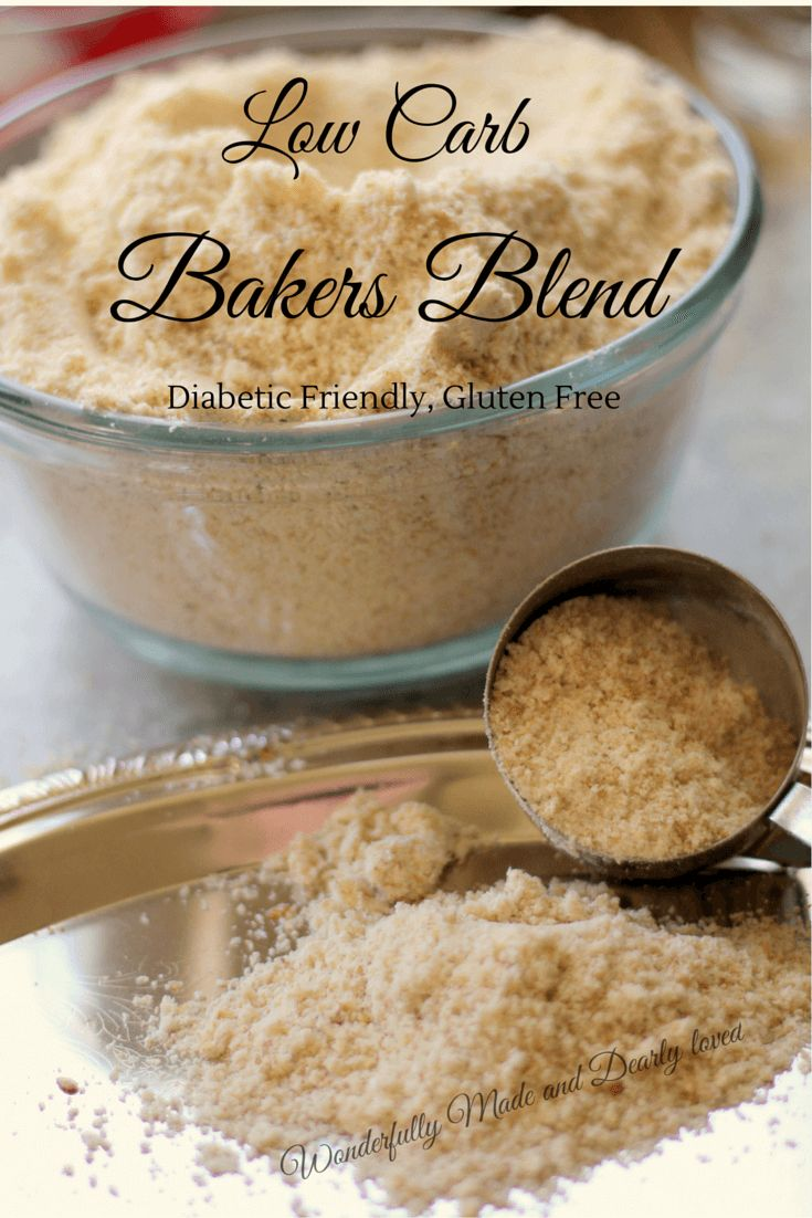 Low carb bakers blend recipe low carb baking low