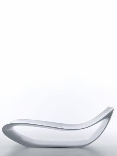 Sign Chair White, 2006 | Long Chair . Liegestuhl . Chaise Longue | Design: