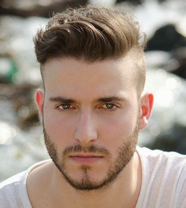 semi mohawk hairstyle - I would like a little less length on top