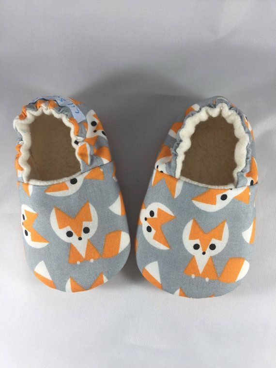 Baby shoesSoft Sole Baby moc Fox Baby