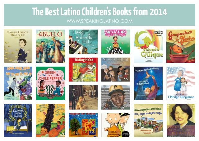 The Best 20 Latino Children S Books From 2014 Spanish Teacher