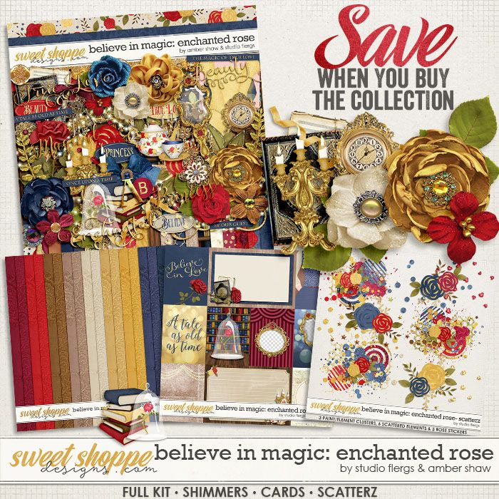 Believe In Magic: Enchanted Rose Collection