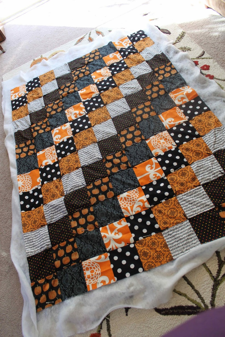 jujuB: Halloween Quilt Tutorial & Sale