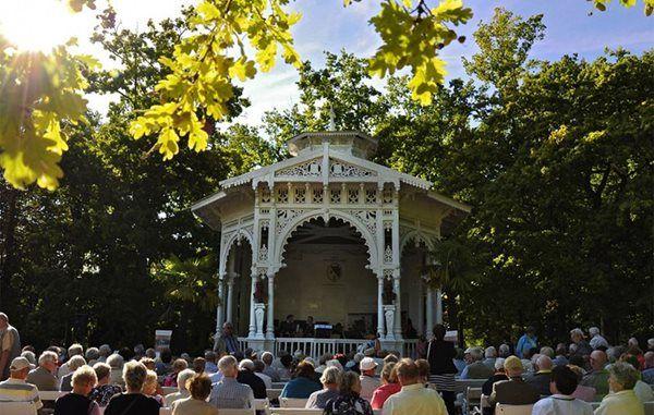 Františkovy Lázně - Music Pavilion