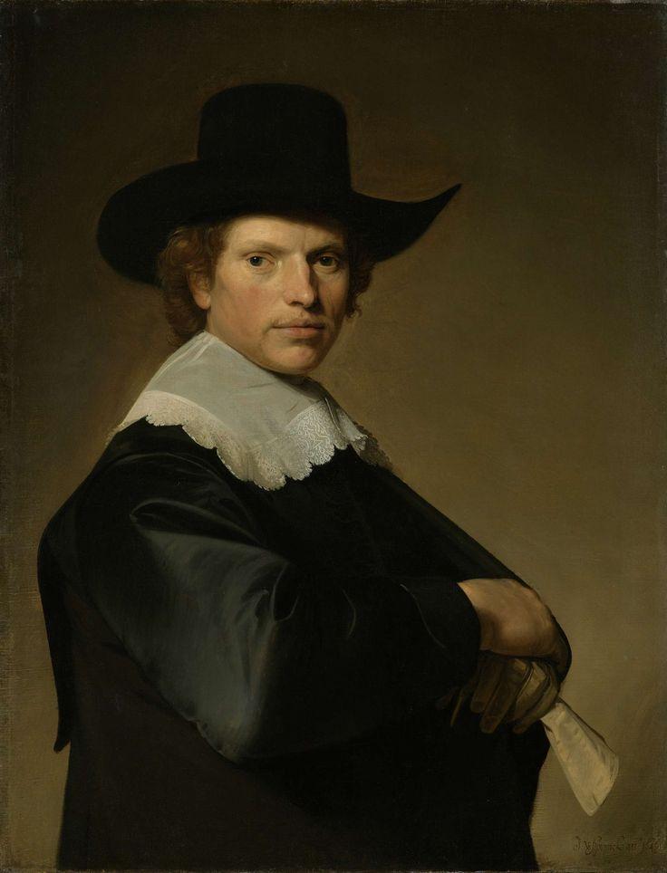 Portrait of a Man, Johannes Cornelisz. Verspronck, 1646